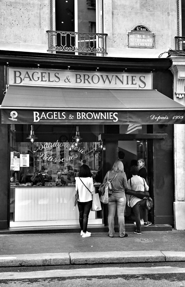 De New York à Paris: un déjeuner chez Bagels and Brownies