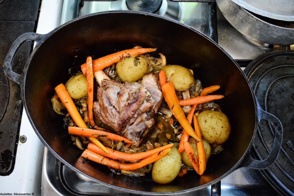 Souris d'agneau et légumes primeurs : le plat idéal du début de printemps !