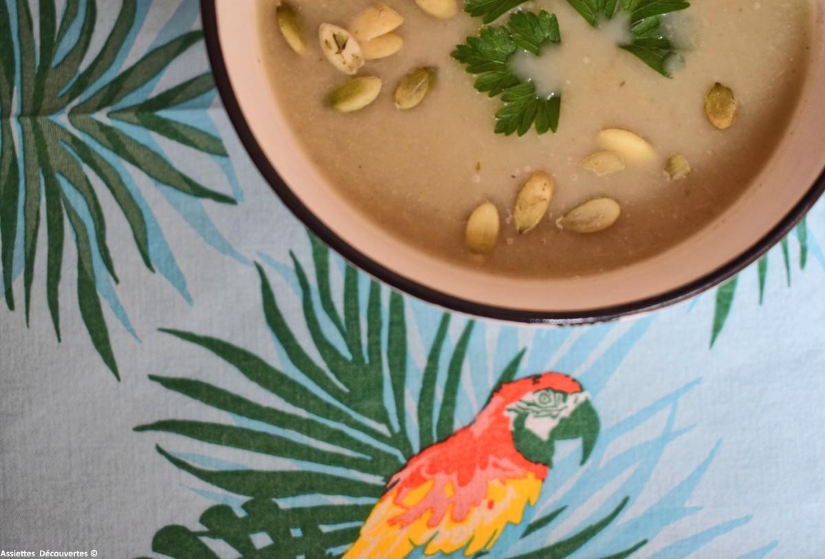 [Confort Food] : Velouté de fenouil et artichaut